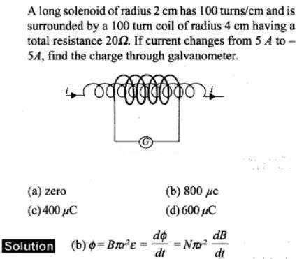 73 long solenoid of radius SKMClasses IIT JEE Bangalore