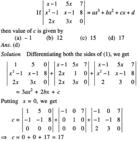 75 Determinant as cubic expression