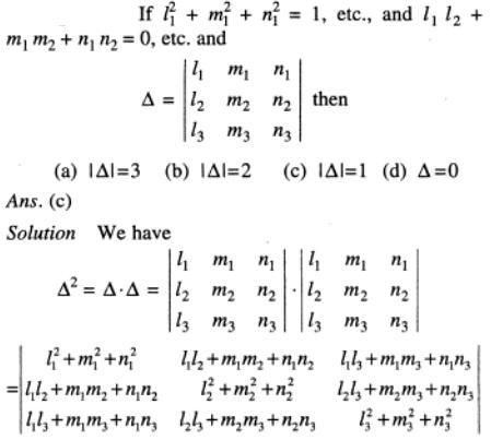 77 Big algebraic expressions of Determinant
