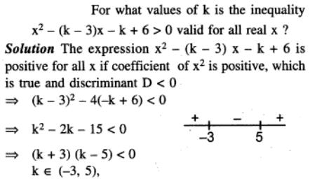 79 Q For what values of k the expression is valid