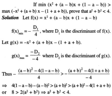 80 Q if minimum value of Quadratic equation