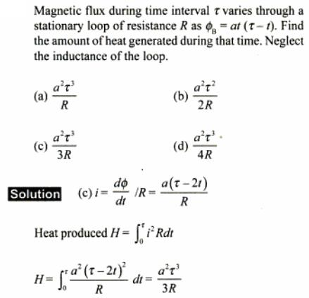 81 Magnetic flux during time SKMClasses IIT JEE Bangalore