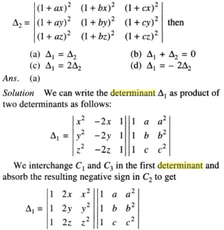 82 Product of Determinants