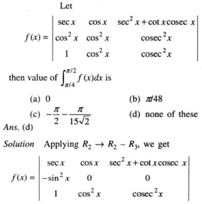 85 Integration of Determinant