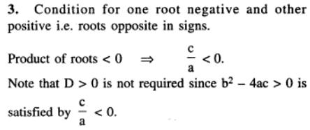 88 Q Conditions for location of roots