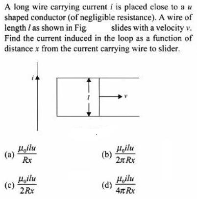 89 long wire carrying current SKMClasses IIT JEE Bangalore