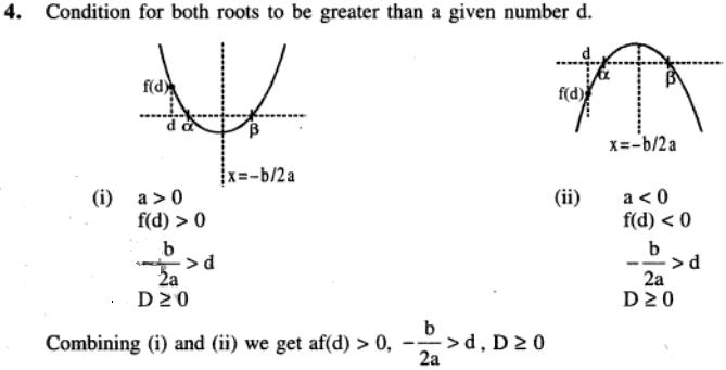 89 Q Conditions for location of roots