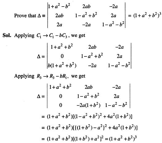 9 Expand the Determinant