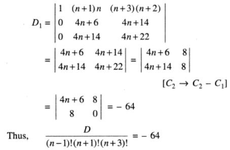 90 Determinant with factorials