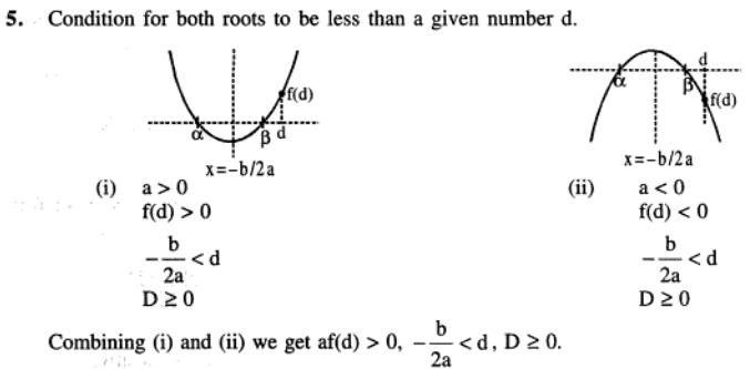 90 Q Conditions for location of roots
