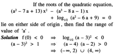 94 Q if the roots are on either side of origin