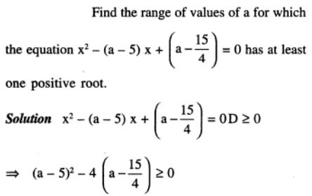 95 Q Find the range of a such that quadratic has 1 positive root