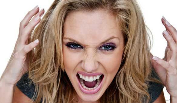 Angry woman 2
