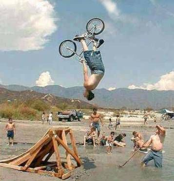 cycling in air