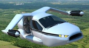 one hybrid car