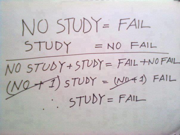 study fail