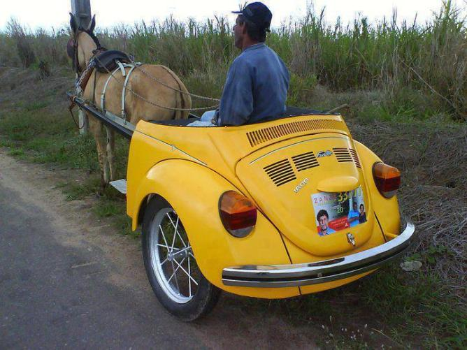 z-Ghoda gadi yellow