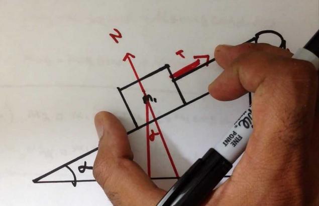 1 Mechanics 3 inclined plane
