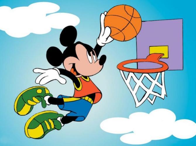 1c Micky playing Basketball