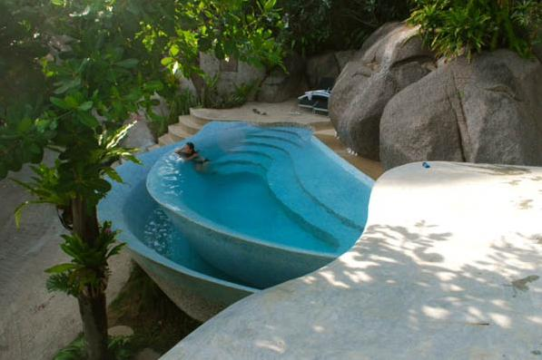 92 Swimming Pool Green Notun rokomer