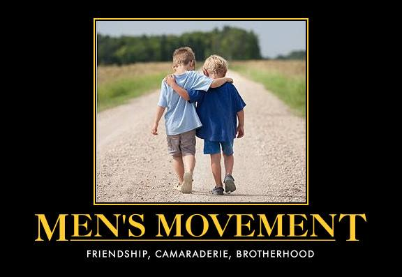 1 Mens movement friendship, brotherhood, help, compassion to men