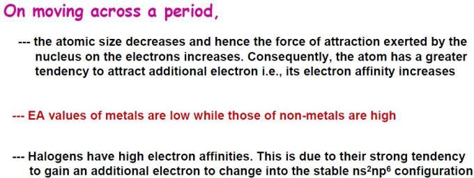 66 Electron Affinity
