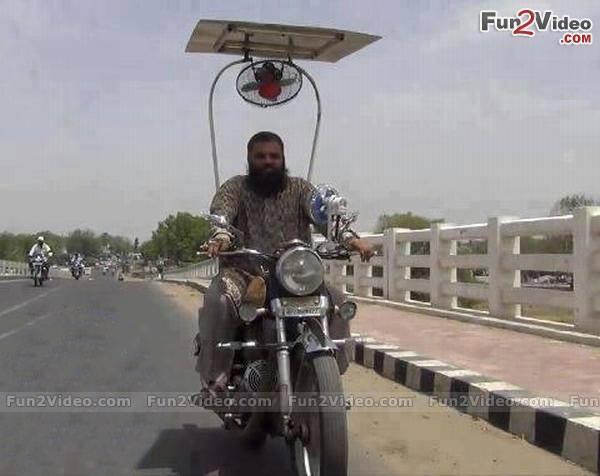 10c motorcycle fan