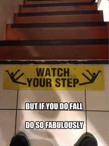 11n watch your step