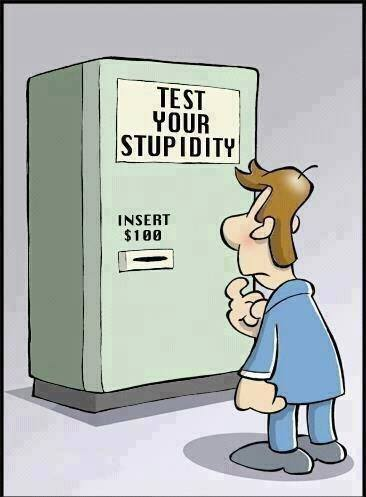 11r test your stupidity