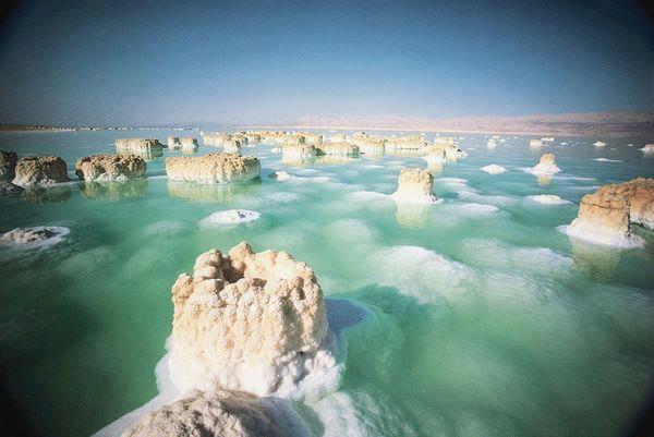 1s salt formation in dead sea