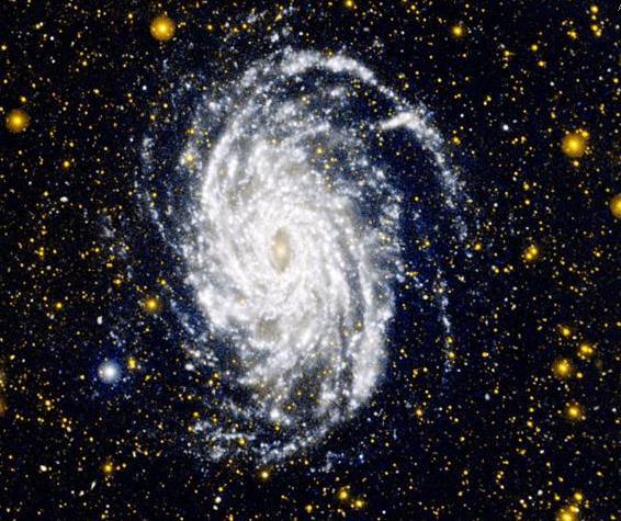 2d spiral galaxy
