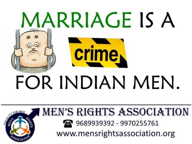 2o marriage is crime for Indian men