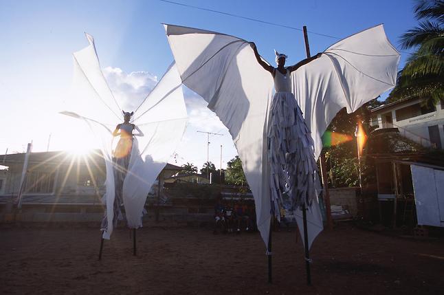 4d moko jumbie butterfly