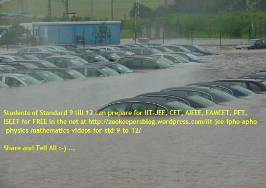 cars submerged