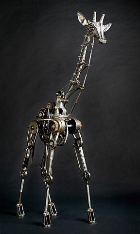 Giraffe er robot