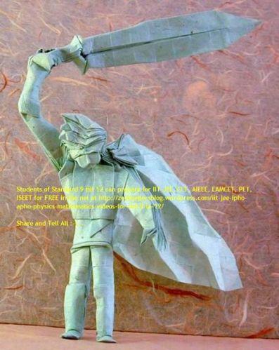 origami warrior