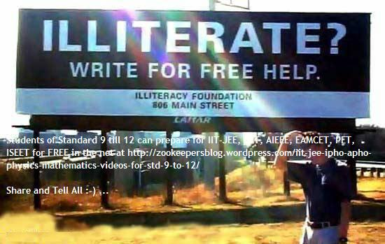 write to solve illiteracy