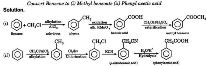 1 Benzene to Metyl Benzene