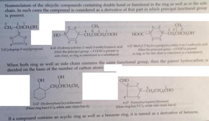 107 Advanced IUPAC rules