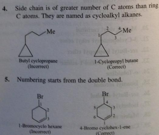 109 Advanced IUPAC rules