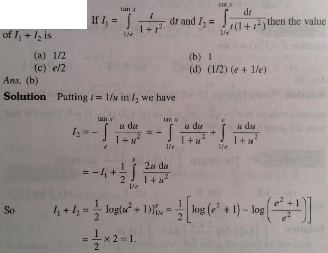 117 Sum of 2 Integrals having f(x) as limits