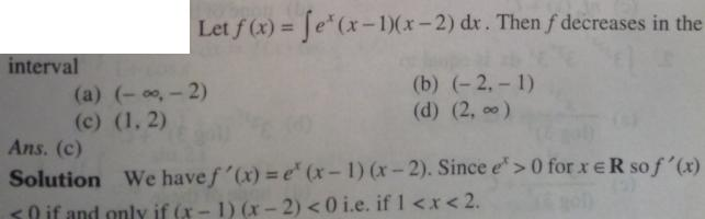 127 Differentiation of Integral