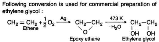 13 Ethene to ehylene glycol