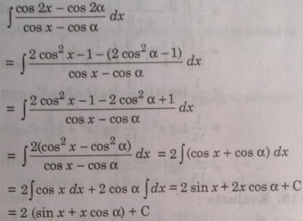 134 Integration trick put Cos 2 alpha as Cos square Alpha