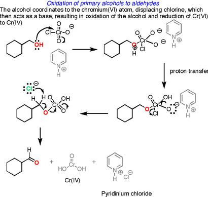 17 Oxidation of primary alcohols to aldehydes