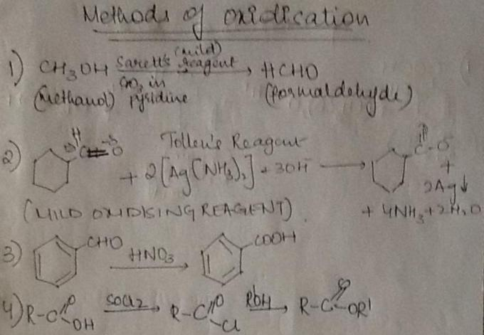 1b Methods of Oxidation