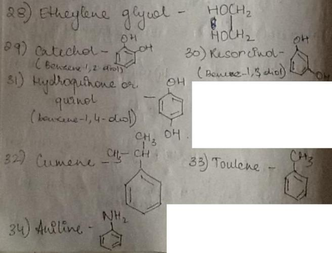 1d Etheylene glycol to Aniline