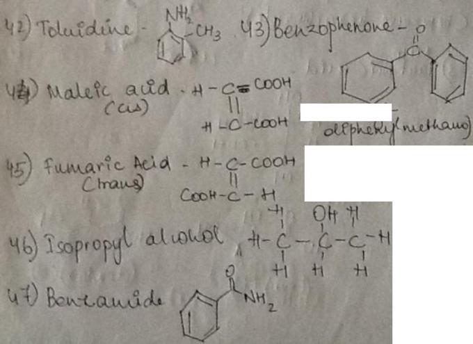 1f Toluidine to Benzamide