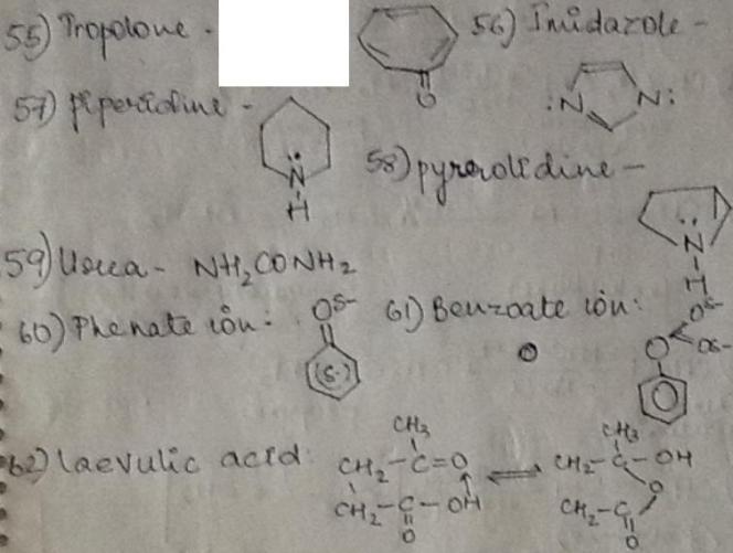 1i Tropolone to laevulic acid