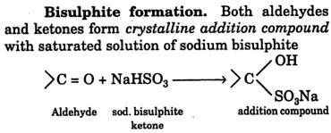2 Bisulphite formation